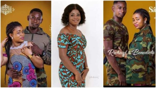 Military man accused of dumping his girlfriend who spent GHC38k on him to marry another lady finally speaks