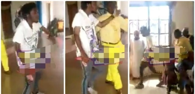 Pastor sacked A Rastaman for Dancing 'ungodly' During Church Service [Watch]
