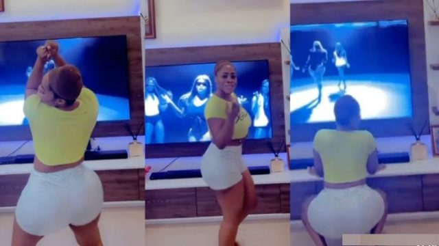 Moesha leaves mouths opened with crazy tw3rRking skills to her Diva song [watch]