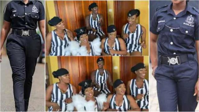 Slay gone bad as 5 's£xy' female police officers punished for 'improper dressing [Watch]