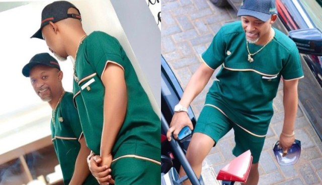 Fada Dickson Cruises In Town With His Expensive Trike – Photos