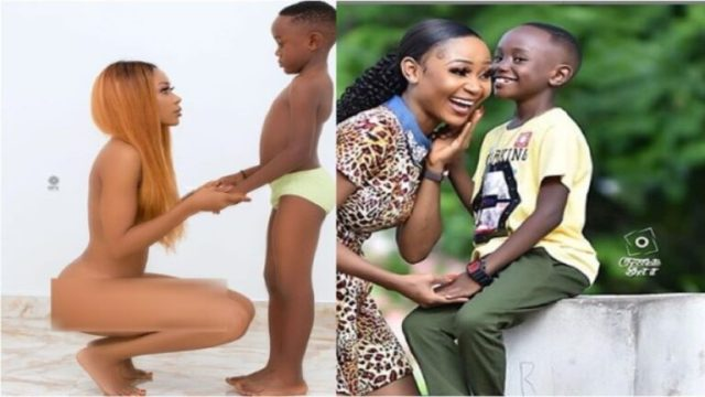 Akuapem Poloo Convicted By Accra Circuit Court Over Naked Picture With Son