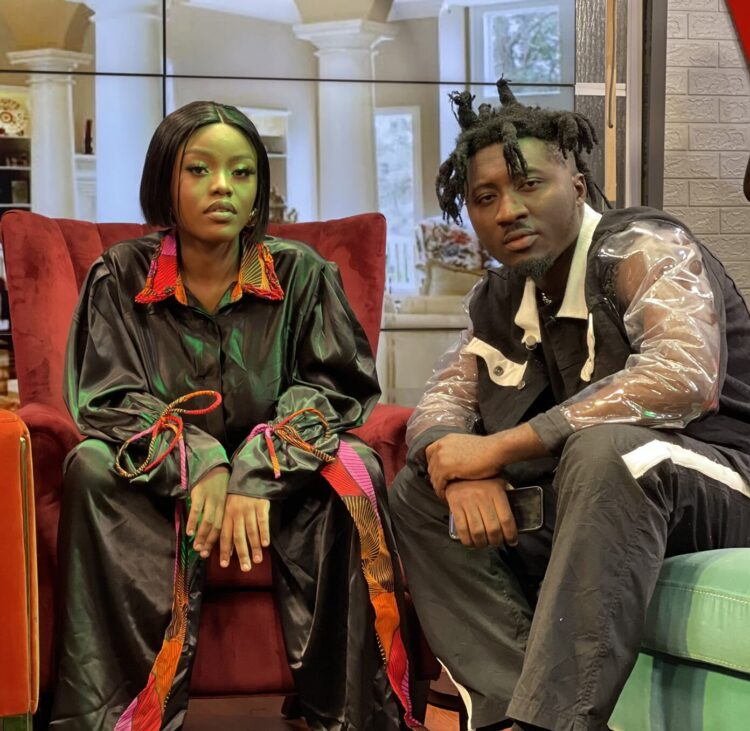 Amerado Remix's Forever With Gyakie At United ShowBiz (Watch Video)