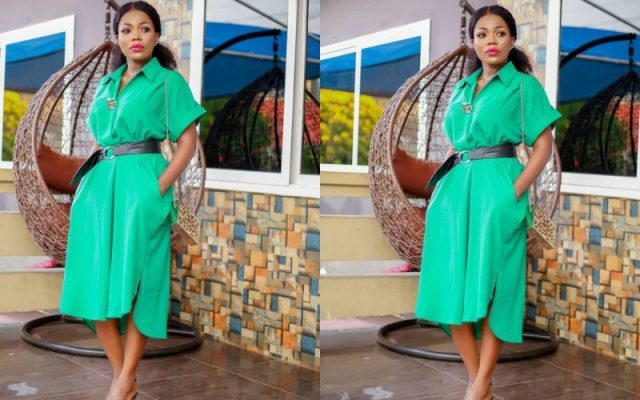 Ghanaians descend heavily on Mzbel after she posted a N@ked Photo to show Support to Akuapem Poloo