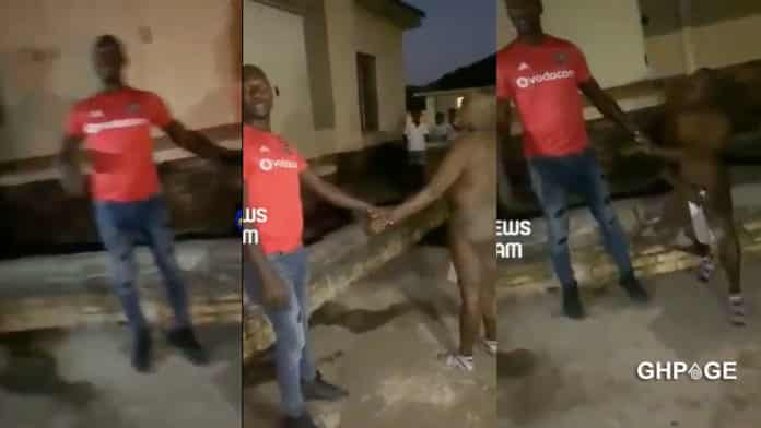 Man beaten mercilessly after he was caught with another man's wife's-wife
