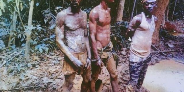 Takoradi Illegal miners jailed 45 years and fined GH¢240K (Details)