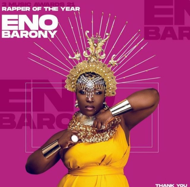 """Eno Barony beats Amerado and the Rest, Wins """"Best Rap Performance"""" with 'God Is a Woman' Song"""