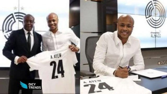 Black Stars Captain, Andre Ayew, Signs A Two-year Deal With Qatar's Al Sadd
