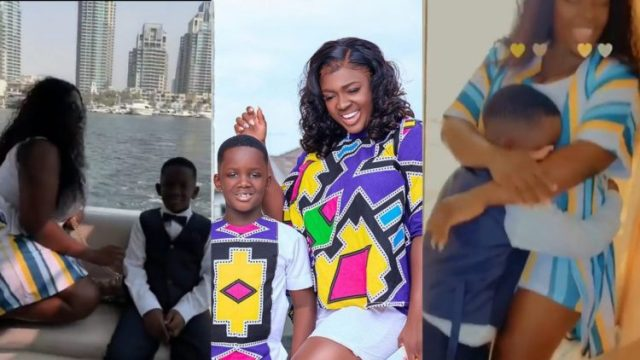Wow!!, Tracey Boakye Gives Her Treat In Dubai To Celebrate His Birthday (Watch Video)