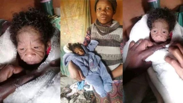 20-Year-Old Girl Gives Birth To Her Grandfather As He Returns To Finish His Assignment On Earth (Photos)