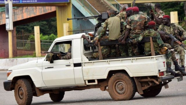 Just In: Guinea Capital Conakry Rocked By Reports Of Coup Attempt
