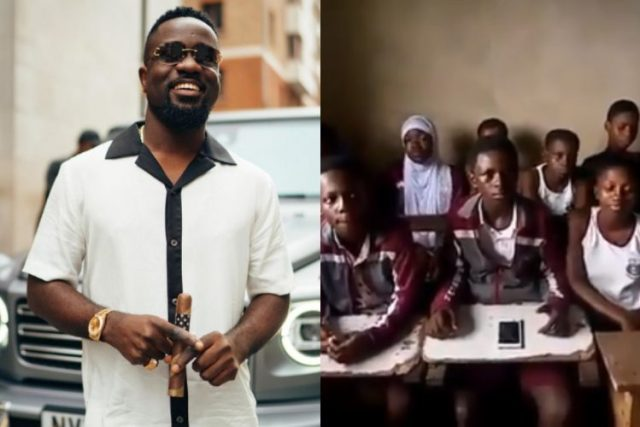 sarkodie-reacts-warmly-after-school-children-sang-and-rapped-his-song-word-for-word-in-class-(watch)