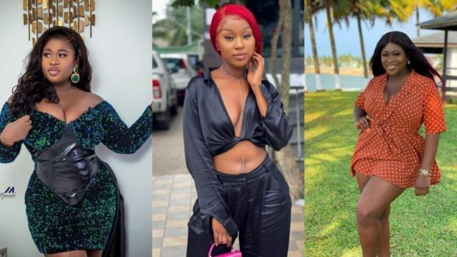 You Are Nothing But A Big F@t Hippo! Efia  Odo Hits Her Beef With Sista Afia
