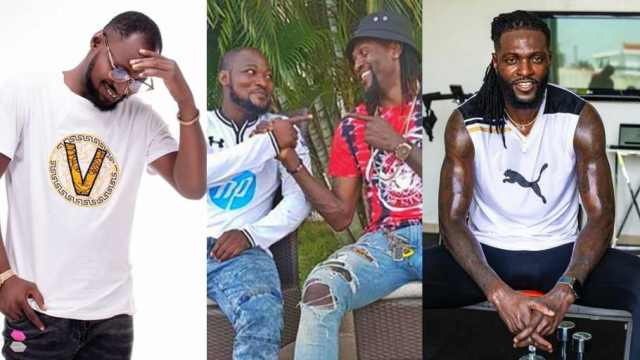 Togolese Star Emmanuel Adebayor Gifts His Best friend Funny Face Another Car After His Recent Accident