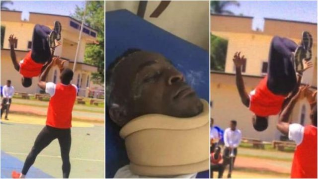Level 400 student at UEW dies whilst celebrating after writing final exam (Watch Video)