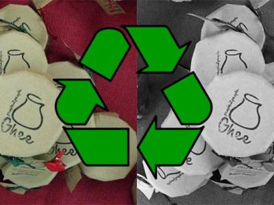 Koristimo samo 100% reciklirani papir!