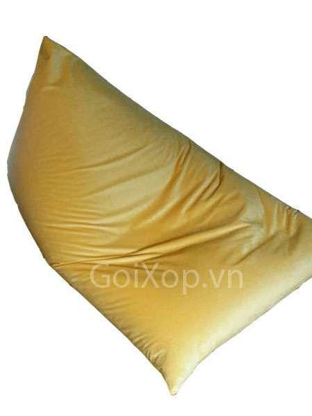 Ghế lười kim tự tháp màu vàng đồng