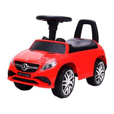 Mașinuță fără pedale Mercedes roșie cu sunete