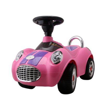 Mașinuță fără pedale Ride-On Bebe Royal roz
