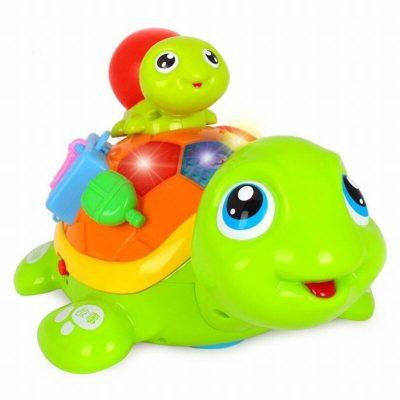 Broscuță țestoasă interactivă - Mama și puiul