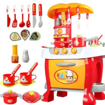 Set de joacă bucătărie utilată cu accesorii