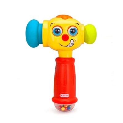 Jucărie ciocănel interactiv cu lumini și sunete
