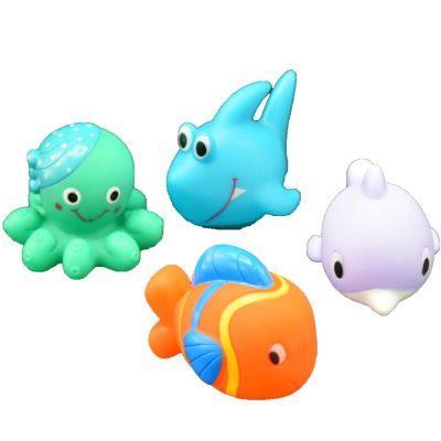 Set jucării de baie din cauciuc Water Fun