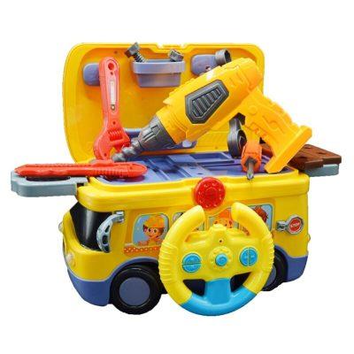 Camionul Micului Meșter cu sunete și accesorii