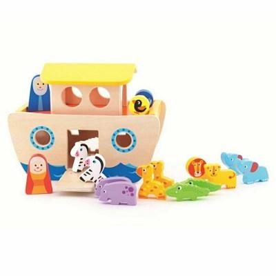 Jucărie Arca lui Noe din lemn - Trefl