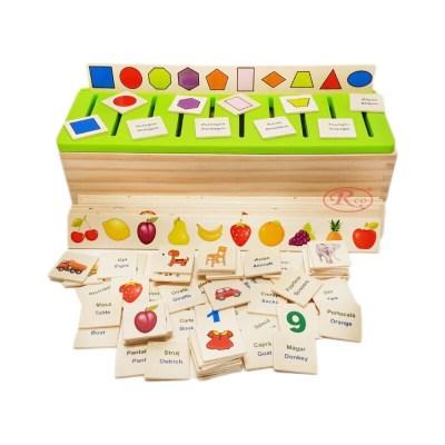 Sortator Montessori cu 88 piese în limba română