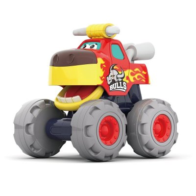Mașinuță bebe Monster Truck Tăurașul furios