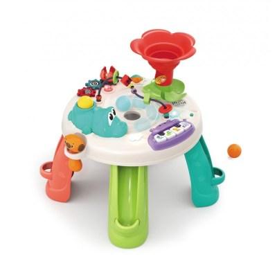 Măsuță cu activități bebeluși cu jocuri și funcții