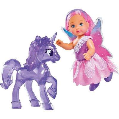 Păpușă cu unicorn - Evi