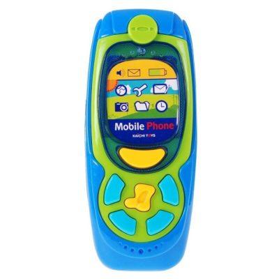 Jucărie telefon muzical bebeluși verde