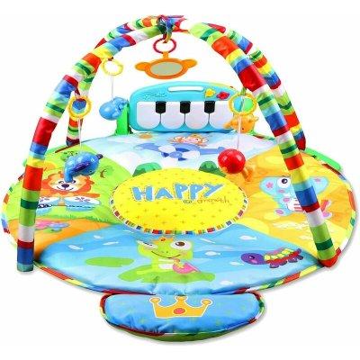Salteluță bebeluși cu activități complexe, lumini și sunete