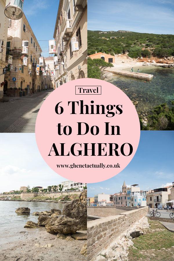 Ghenet Actually    4 Nights in Alghero