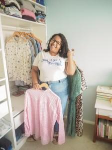 Ghenet Actually    The Wear My Wardrobe Challenge