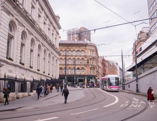 A street in Birmingham