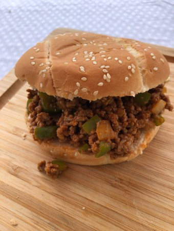 Sloppy Joe burger
