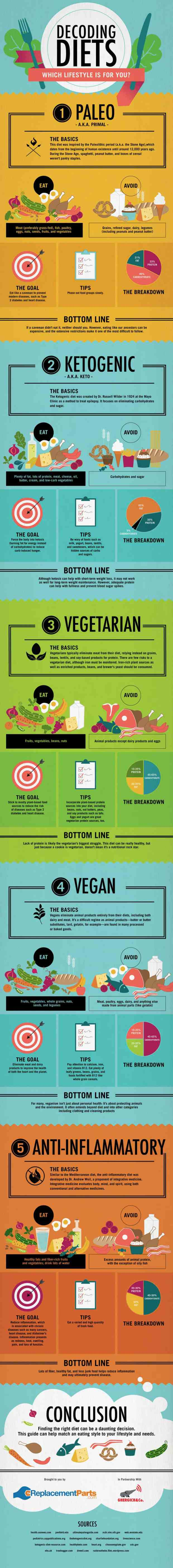 Decoding Diets Infographic