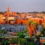 Страна Марокко. Город Марракеш.