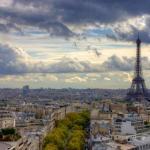 Я  первый раз в Париже