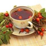 Для сердца чай из изюма и шиповника.