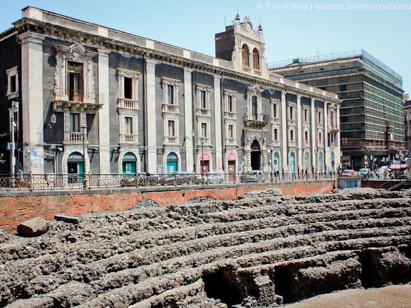 Катании rimskii amfitieatr