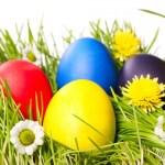 Откуда пошел обычай красить яйца.