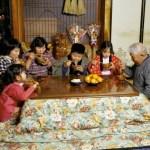 Обычай у японцев в канун нового года.