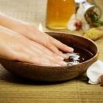Желатиновые ванночки для укрепления ногтей.