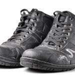 Если на кожаной обуви появились следы от реагентов.