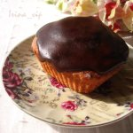 Кекс в шоколадной лазури.
