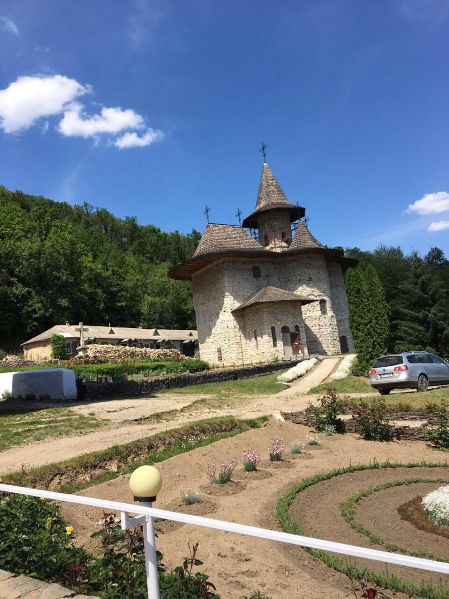 Монастыри Молдовы.